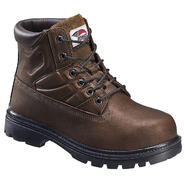 Avenger Safety Footwear Men's Steel Toe Internal Metatarsal Guard Boot Brown at Sears.com