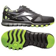 Reebok Men's SubLite Train 1.0 Cross Training Athletic Shoe - Black/Grey/Green at Sears.com