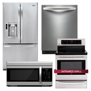 LG Premium Stainless Steel Kitchen Suite at Sears.com