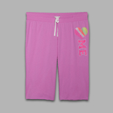 Joe Boxer Women's Capri Sweatpants - Heart at mygofer.com