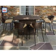 Ty Pennington Style Crosby 5pc Resin Wicker Flip Top Bar Set at Kmart.com
