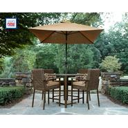 Grand Resort Dupage Resin Wicker Lighted 5pc High Dining Set Bundle at Kmart.com