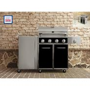 Kenmore 4 Burner Gas Grill with Folding Side Table at Kenmore.com