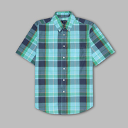 Basic Editions Men's 'Paradise' Plaid Shirt at Kmart.com