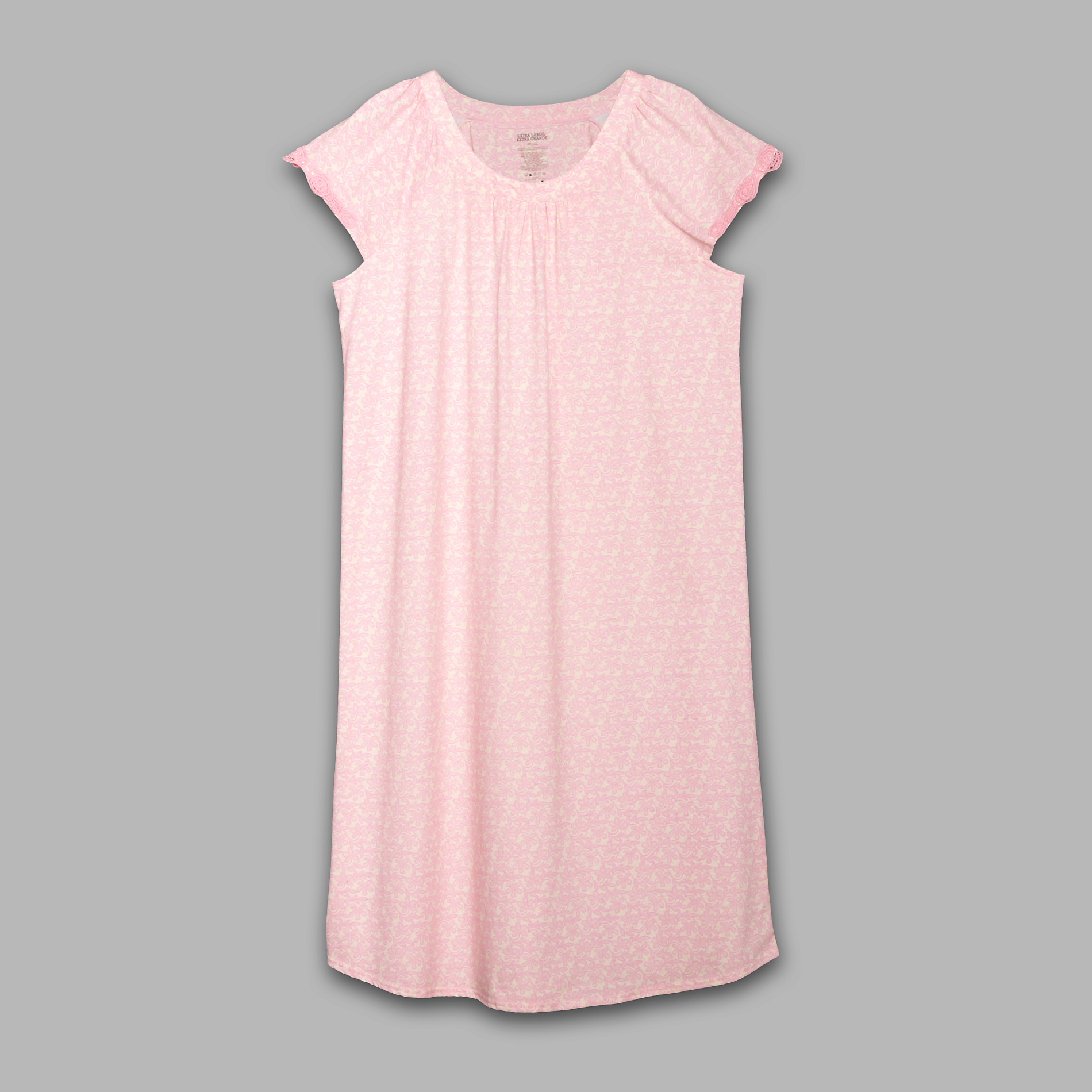 Pink K Women's Embroidered Nightgown at Kmart.com