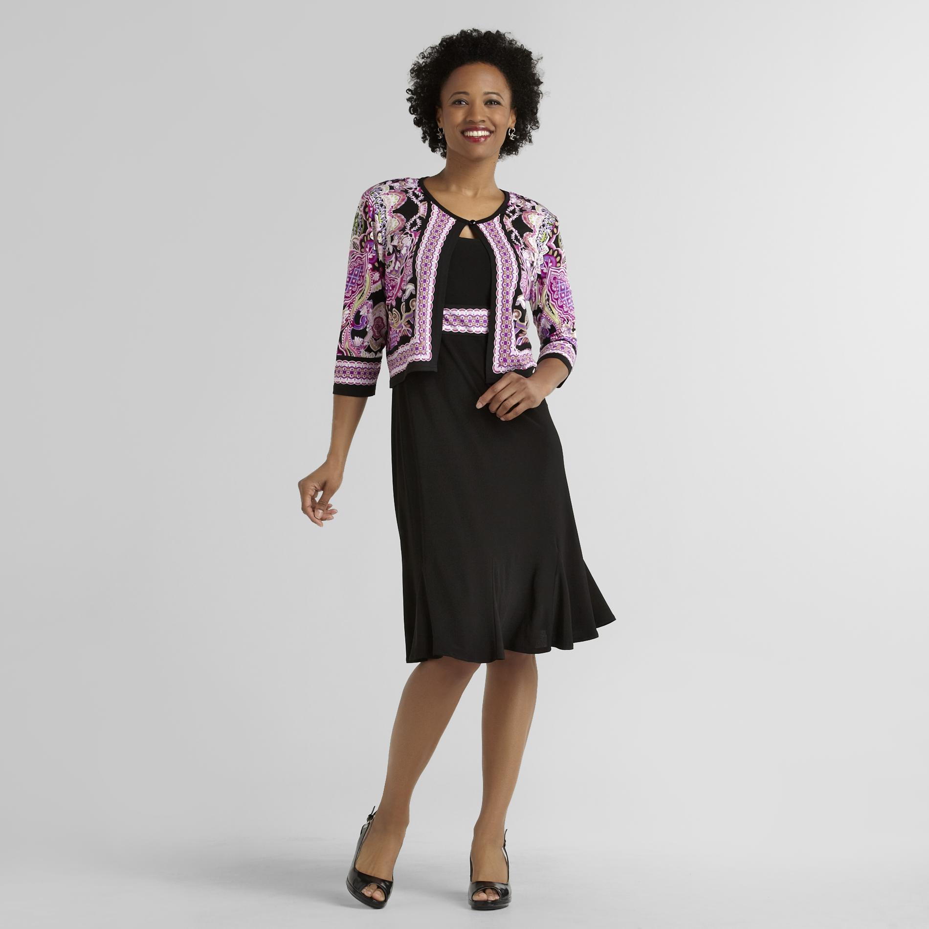 Women's Knit Dress & Jacket - Medallion at Sears.com