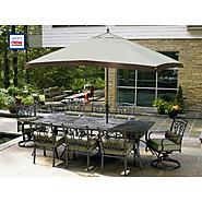 La-Z-Boy Outdoor Aubree 10 Pc. Dining Set at Kmart.com