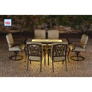 La-Z-Boy Outdoor Halley 7pc Dining Set with Lighted Table at Kmart.com