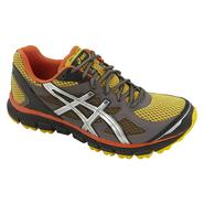Asics Men's GEL-Scram Trail Running Athletic Shoe - Yellow/Grey/Orange at Sears.com