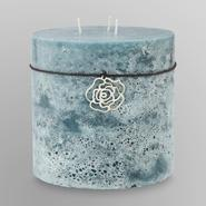 Sandra by Sandra Lee Pillar Candle - Sea Breeze & Mist at Kmart.com