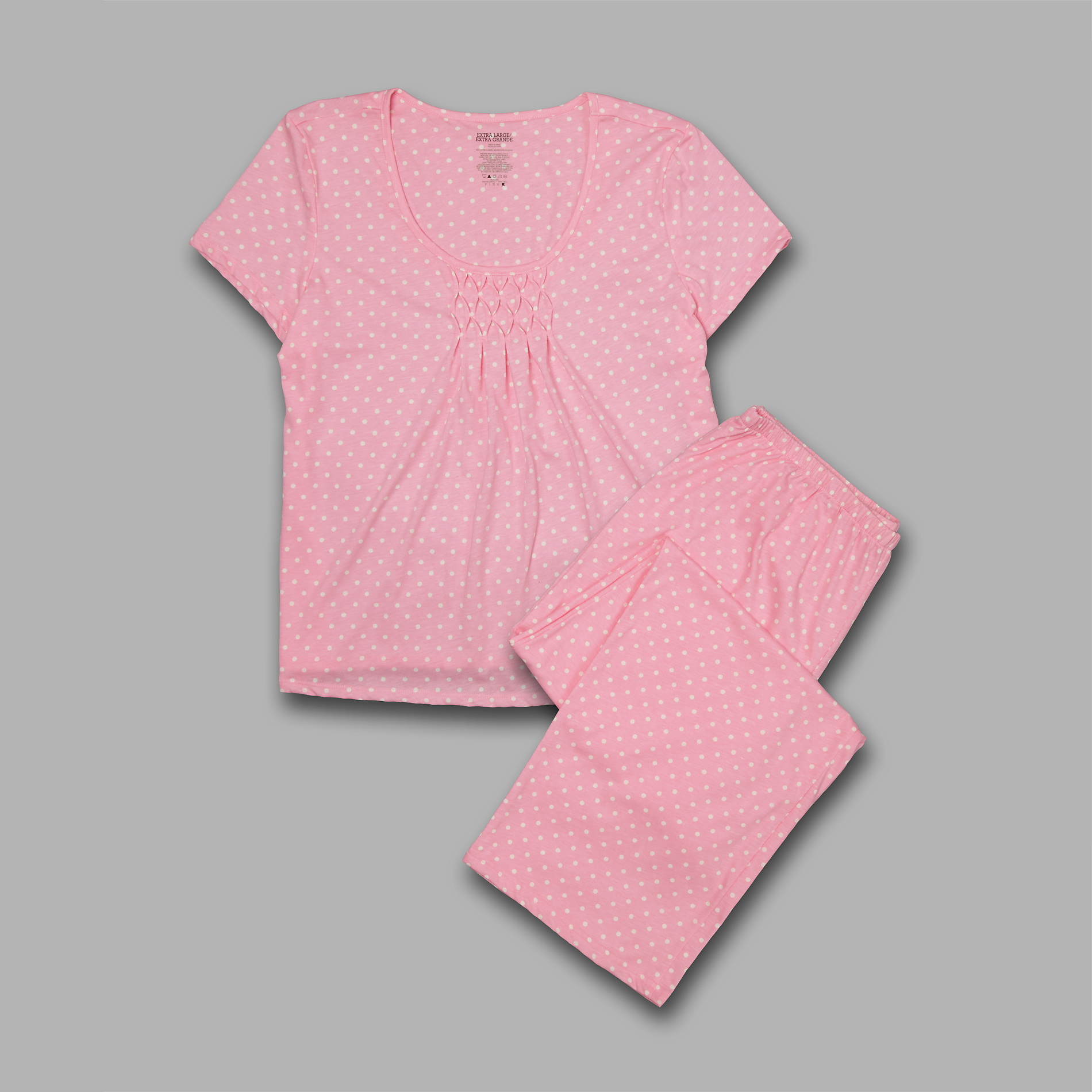 Pink K Women's Pajamas - Polka Dot at Kmart.com