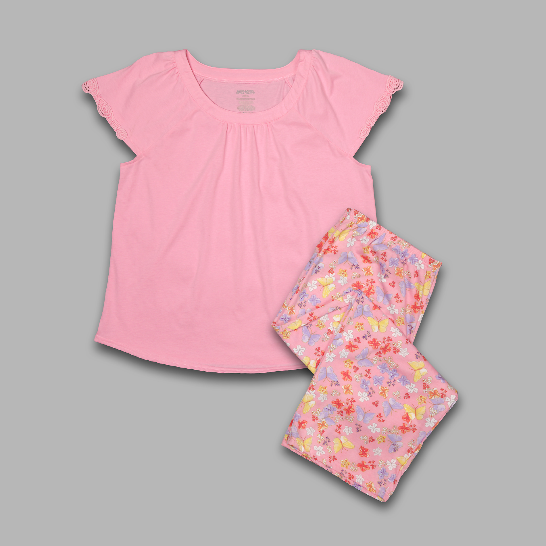 Pink K Women's Pajamas - Butterfly at Kmart.com