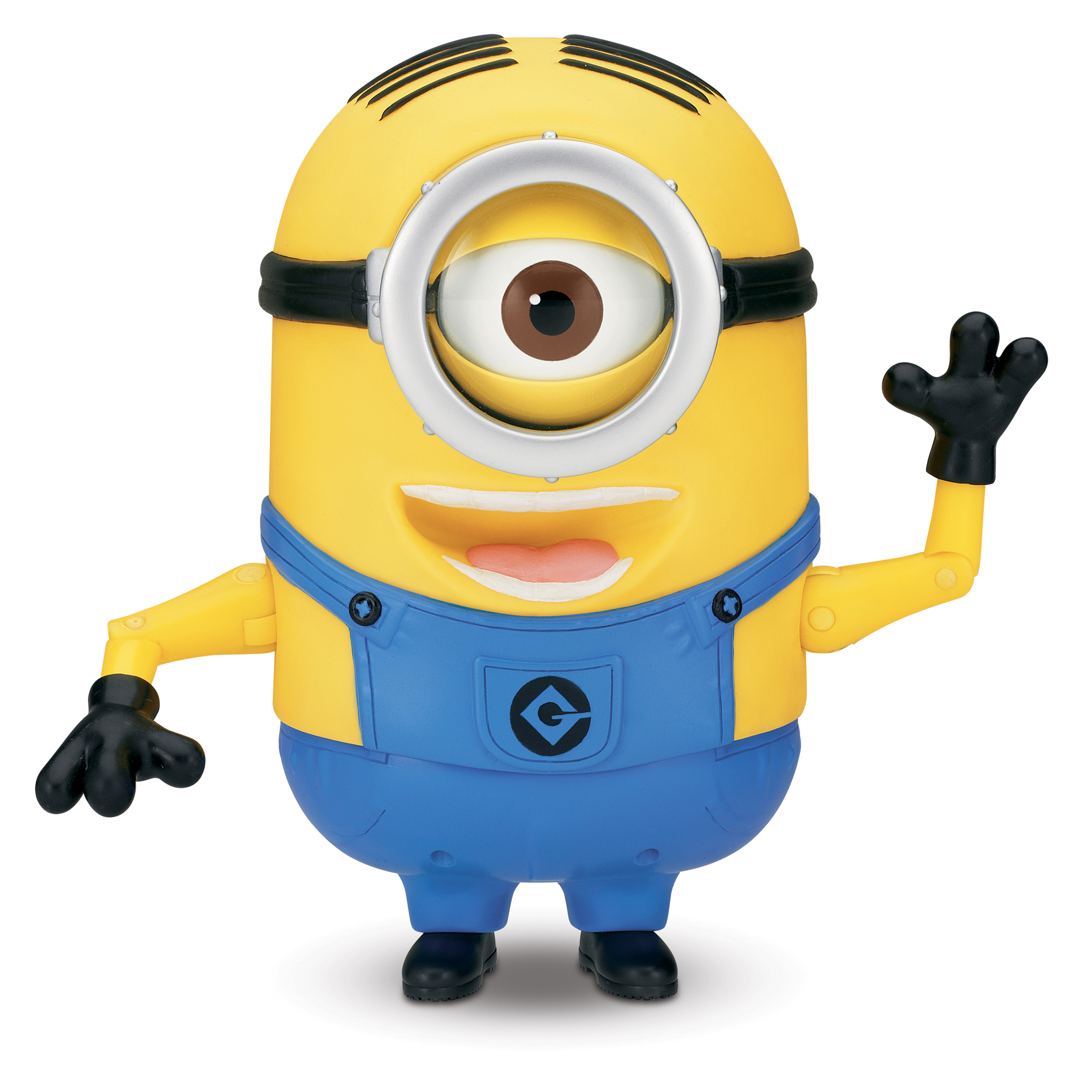 "8"""" Minion Stuart Laughing Action Figure - Despicable Me 2, Yellow"" 004W005637221002"