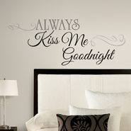 RoomMates Always Kiss Me Goodnight Peel & Stick Wall Decals at Sears.com