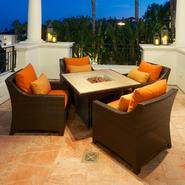 RST Outdoor Tikka™ 5-Piece Fire Table Seating Set at Kmart.com