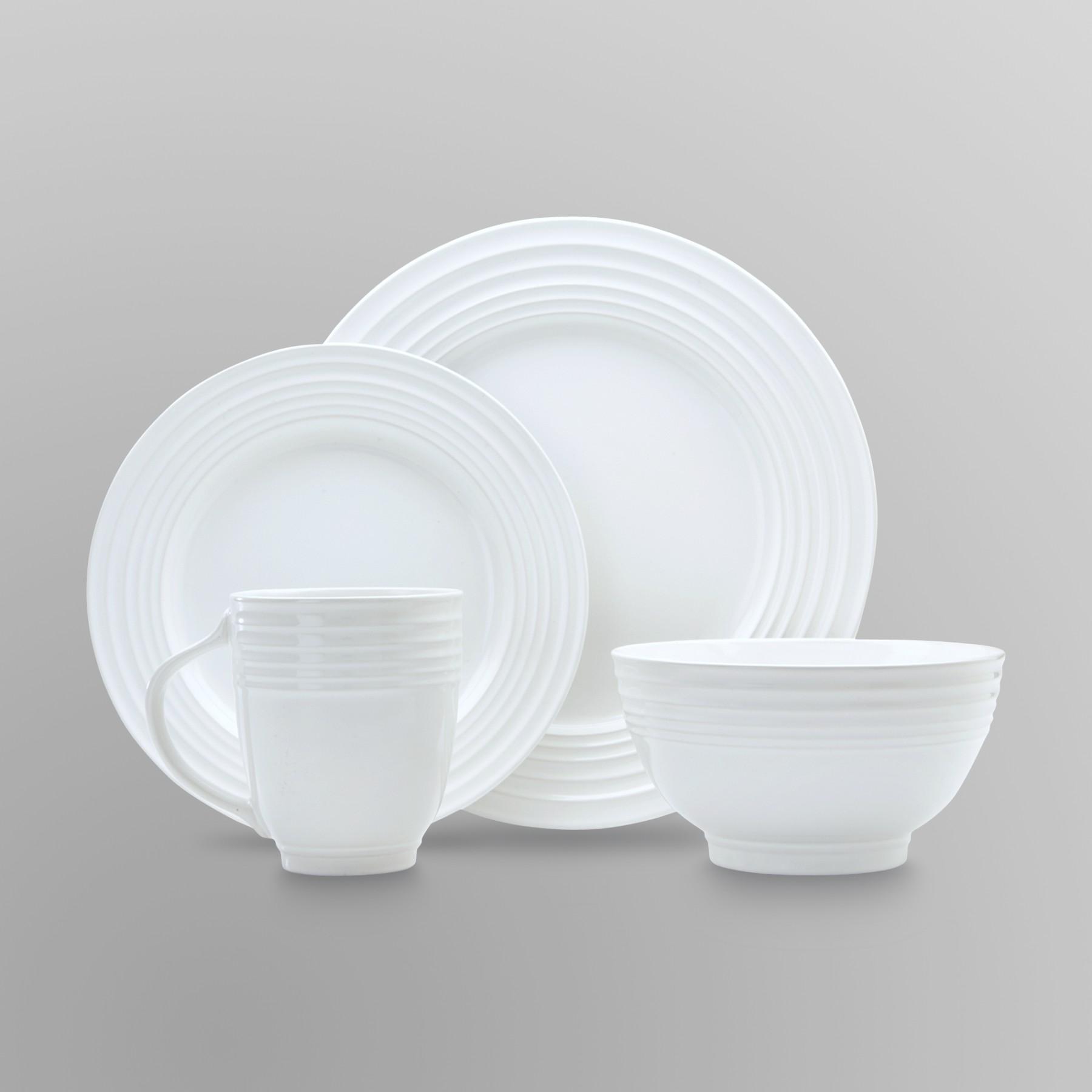 Essential Home 16-Piece Solid Color Dinnerware Set - Round PartNumber: 024VA56286312P MfgPartNumber: 90908.16