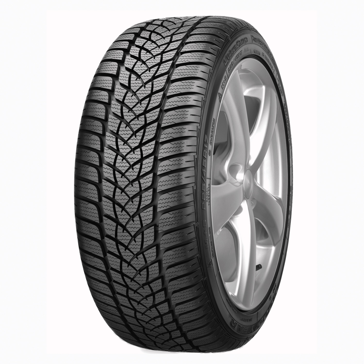 goodyear ultra grip performance 2 225 55r17xl 101v bw winter tire. Black Bedroom Furniture Sets. Home Design Ideas