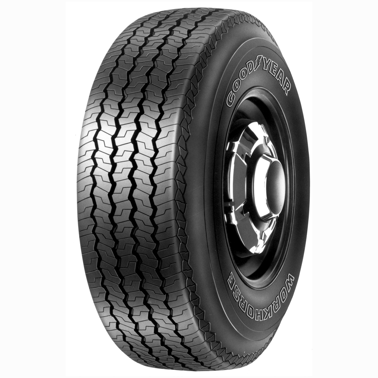 Goodyear  Workhorse Rib - 7.50Tire -16LT LRE BSW