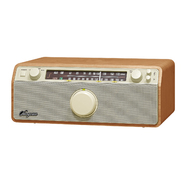 Sangean FM / AM / Aux-in Wooden Cabinet Receiver at Kmart.com