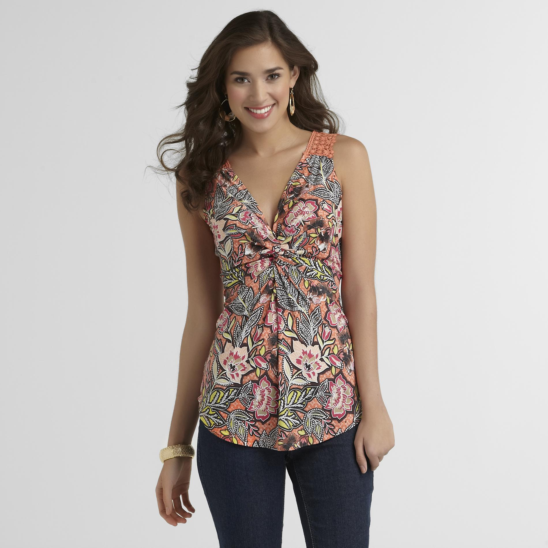 Grisbi Women's Twist-Front Top at Sears.com