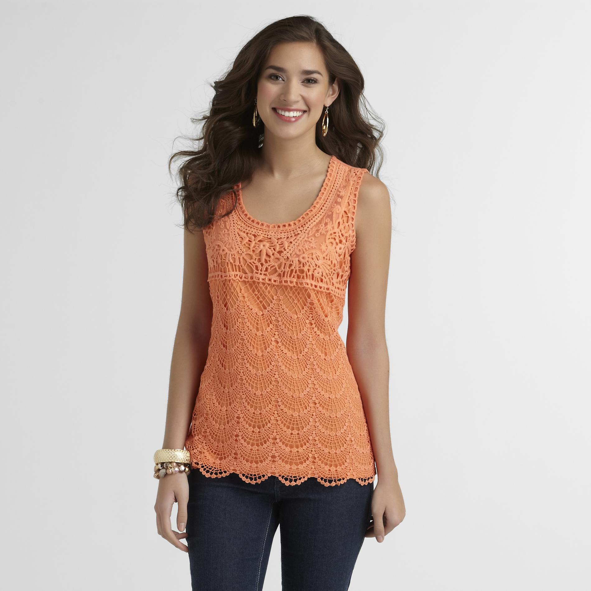 Grisbi Women's Lace Tank Top at Sears.com