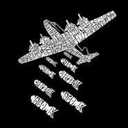 Men's Word Art Hooded Sweatshirt - Drop Beats