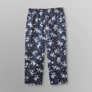 Laura Scott Women's Cropped Jeans - Floral at Kmart.com
