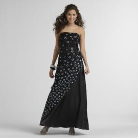 Jump Apparel Junior's Strapless Prom Dress at Sears.com