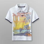 Toughskins Mix & Match Boy's Graphic Polo Shirt - Surfer at Sears.com