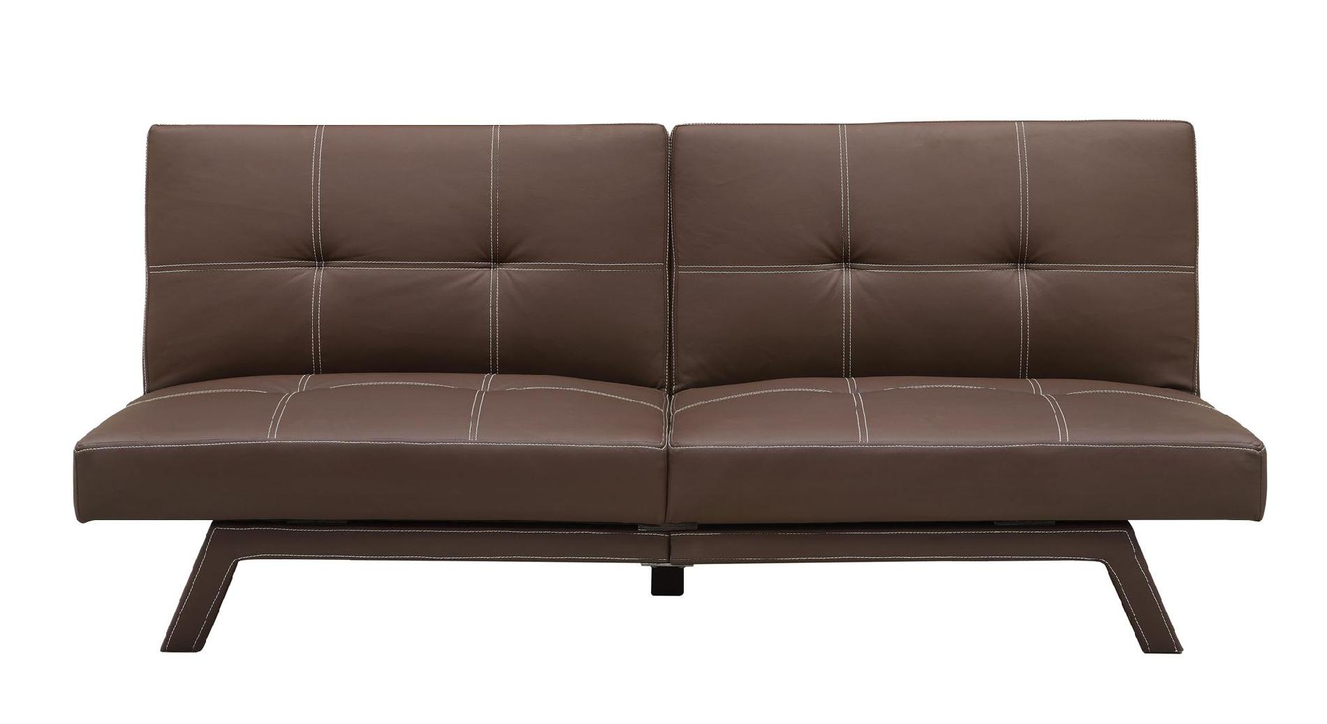 DHP  Delaney Split Back Futon Brown