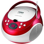 Naxa Portable CD Player with AM/FM Stereo Radio- Red at Sears.com