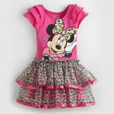 Disney Baby Minnie Mouse Infant & Toddler Girl's T-Shirt Dress at mygofer.com