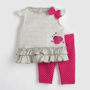 Small Wonders Infant Girl's Shirt & Leggings - Ladybug at Kmart.com