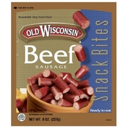 Old Wisconsin Snack Bites, Beef Sausage, 8 oz (227 g) at Kmart.com