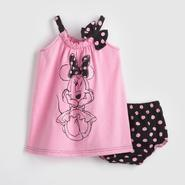 Disney Baby Minnie Mouse Infant Girl's Dress & Diaper Cover at Sears.com