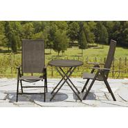La-Z-Boy Outdoor Alex High Back Folding Bistro Set Bundle at Kmart.com
