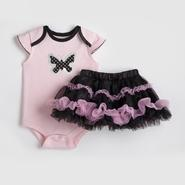 Baby Glam Infant Girl's Bodysuit & Tutu Skirt - Butterfly at Sears.com