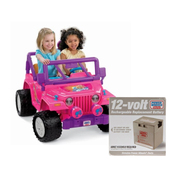 Power Wheels BARBIE Jammin Jeep Bundle at Sears.com