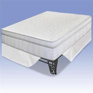 "Night Therapy 13"" MyGel® iCoil®  Box Top Hybrid Mattress &Bed Frame Set- Queen at Kmart.com"