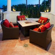 RST Outdoor Cantina™ 5-Piece Fire Table Seating Set at Kmart.com