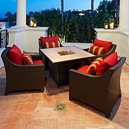 RST Outdoor Cantina™ 5-Piece Fire Table Seating Set at Sears.com