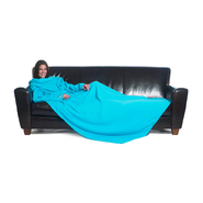 The Slanket The Original Blanket With Sleeves – Turquoise at Kmart.com