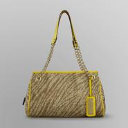 Sofia by Sofia Vergara Women's Luxe Chain Satchel - Straw at Kmart.com