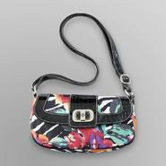 Treviso Women's Mini Hobo Handbag - Zebra & Floral at Kmart.com