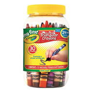 Crayola Washable Triangular Crayons In  Storage Container at Kmart.com