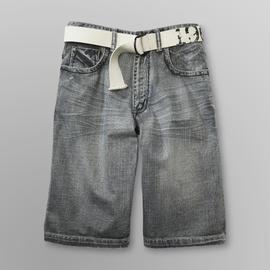 Route 66 Men's Denim Shorts & Belt at Kmart.com