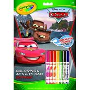 Crayola Disney Cars Coloring And Activity Pad  With Markers at Kmart.com