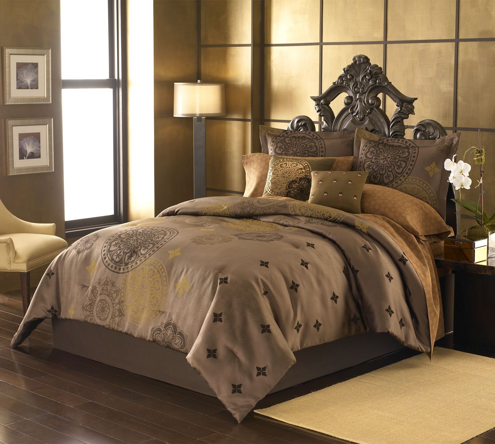 Marakesh Medallion Comforter Set