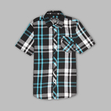TSA by Truth Men's Short Sleeve Plaid Shirt at mygofer.com
