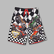 Monster Jams Boy's Monster Jam Swim Trunks at Kmart.com